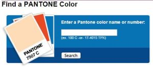 PMS color finder