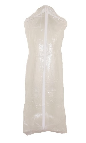 clear vinyl dress bag