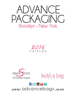 Advance Packaging 2016 Catalog